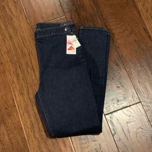 GAP Sculpt High Rise True Skinny Jeans SZ 29T. NWT